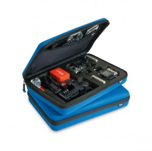SP POV Case small Go-Pro Edition blue