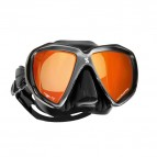 Spectra Mirrored Lenses, black-silver/ mirror coating