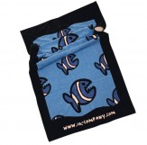 Beachtowel Handtuch Allover Fish in 2490 royalnavi